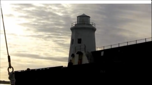 Wick Harbour lighthouse